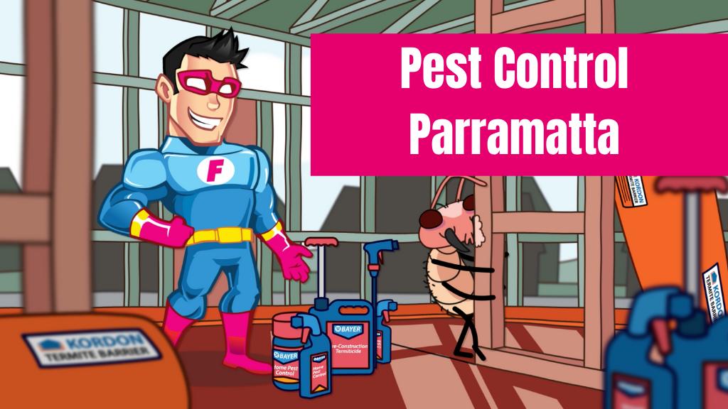 pest control Parramatta banner