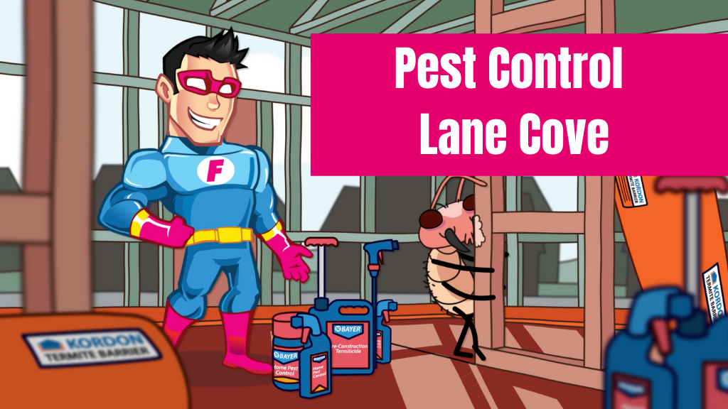 pest control Lane Cove banner