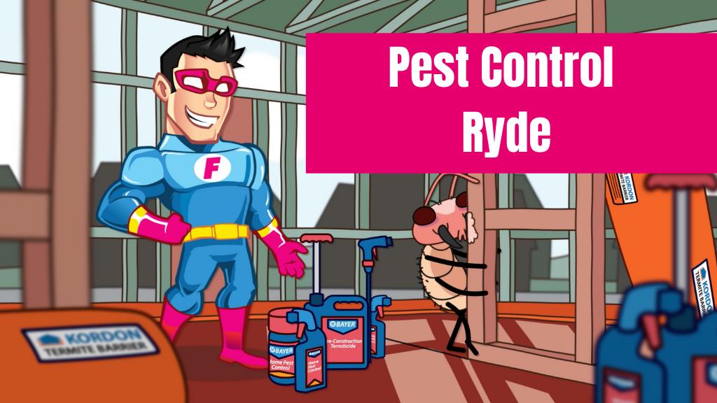 pest control Ryde banner