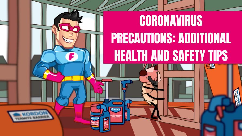 Coronavirus precaution banner