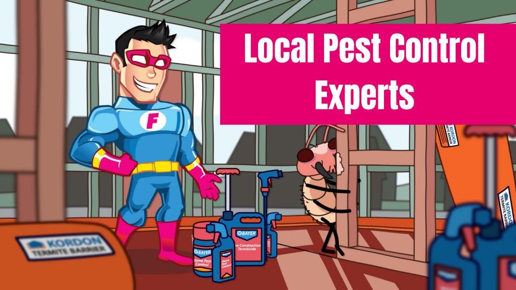 pest control suburb banner